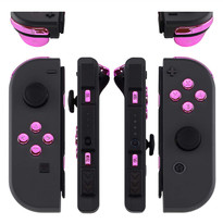Chrome Pink Buttons