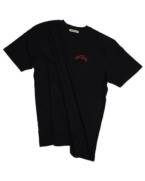 Spring/Summer 2020 - Happy Endings Basic T-shirt (Black)