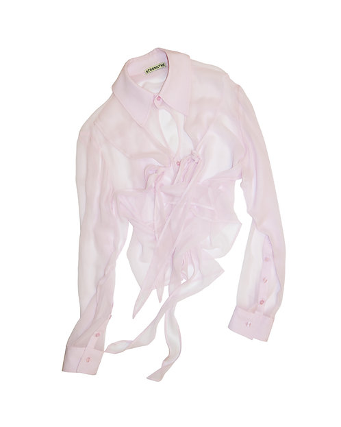 Sample piece: Pink Crossed shirt