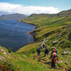Killary Fjord walk