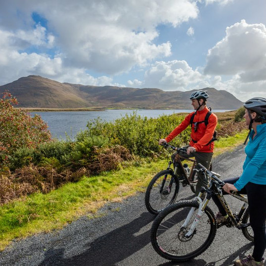 Cycling the Greenway to Achill