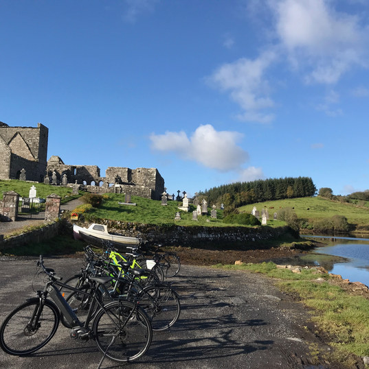 Cycling from Newport to Mulranny