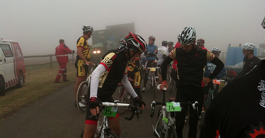 Start 2012 UCI Cycling Tour in South Africa