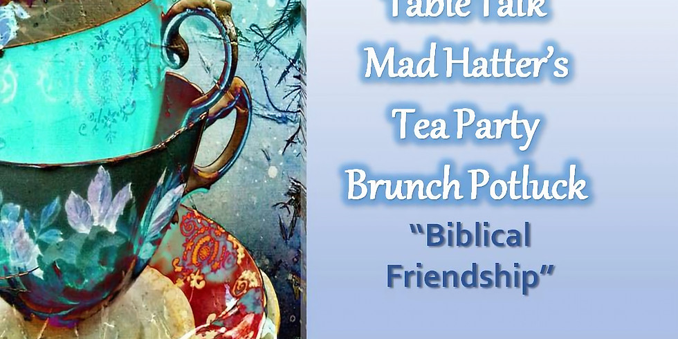 RCC Women's Table Talk Mad Hatter's Tea Party