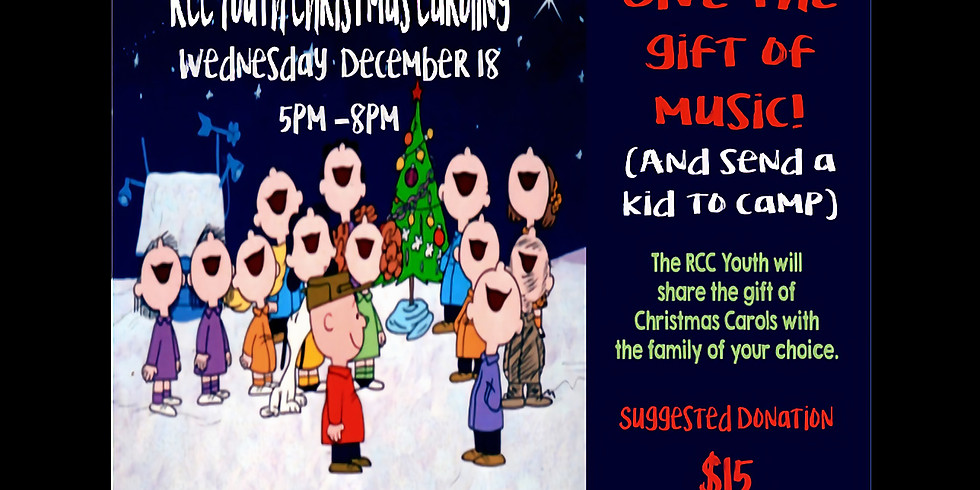 RCC Youth Christmas Caroling