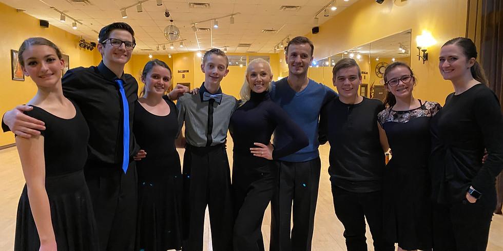 Standard Ballroom Workshop with Artem Plakhotnyi
