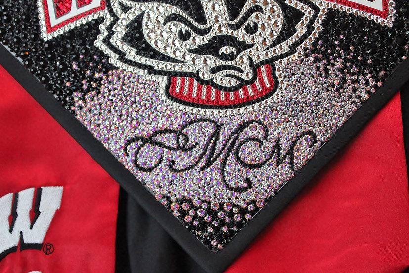 Custom Graduation Cap - Complete Sparkle