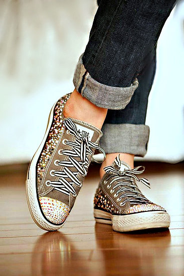 Side Strass on Shoes