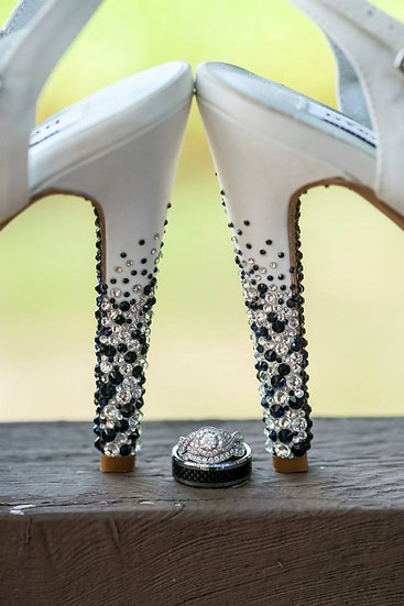 Heel Strassing Only - Ombre Strass