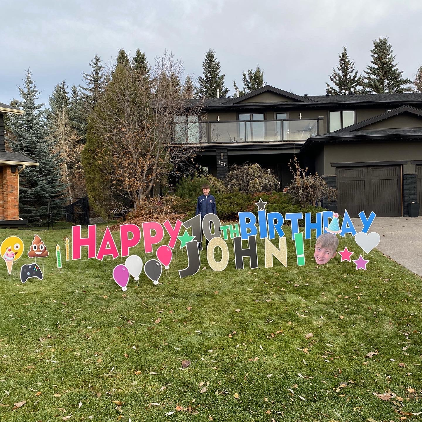 Birthday Yard Sign Calgary
