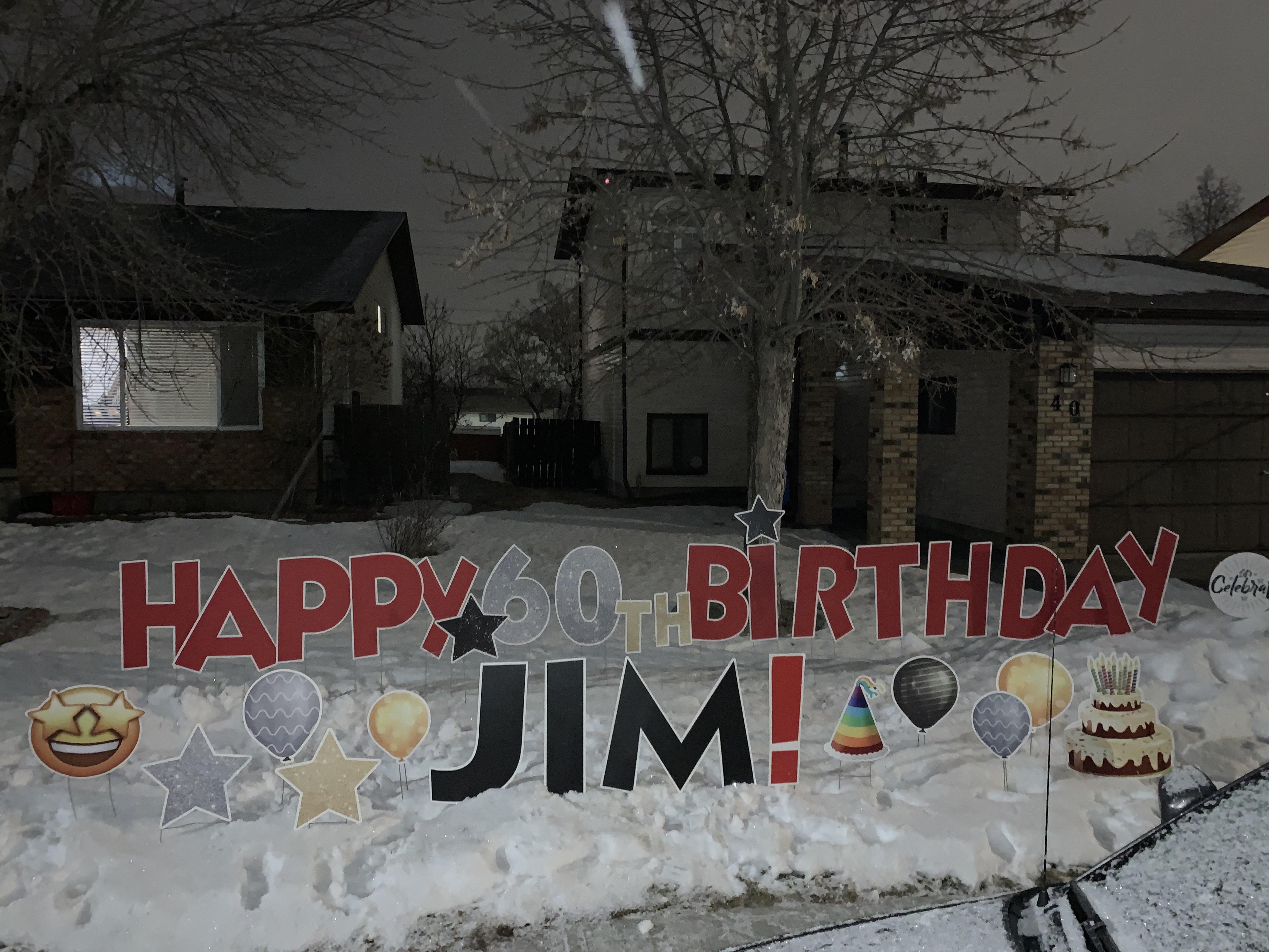 60th Birthday Ideas Calgary