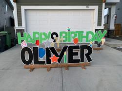 happy birthday lawn greeting yyc
