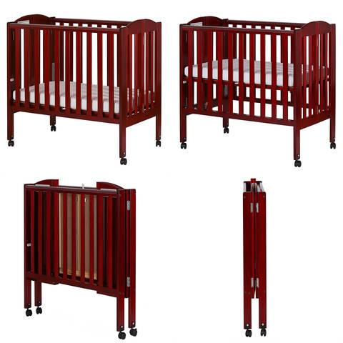 Full Size Dream on Me Folding Crib