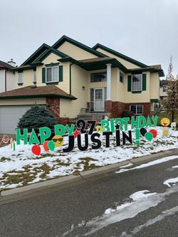 Birthday Lawn Greeting Card Calgary