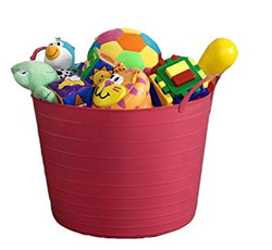 Bucket of Age Appropriate Toys