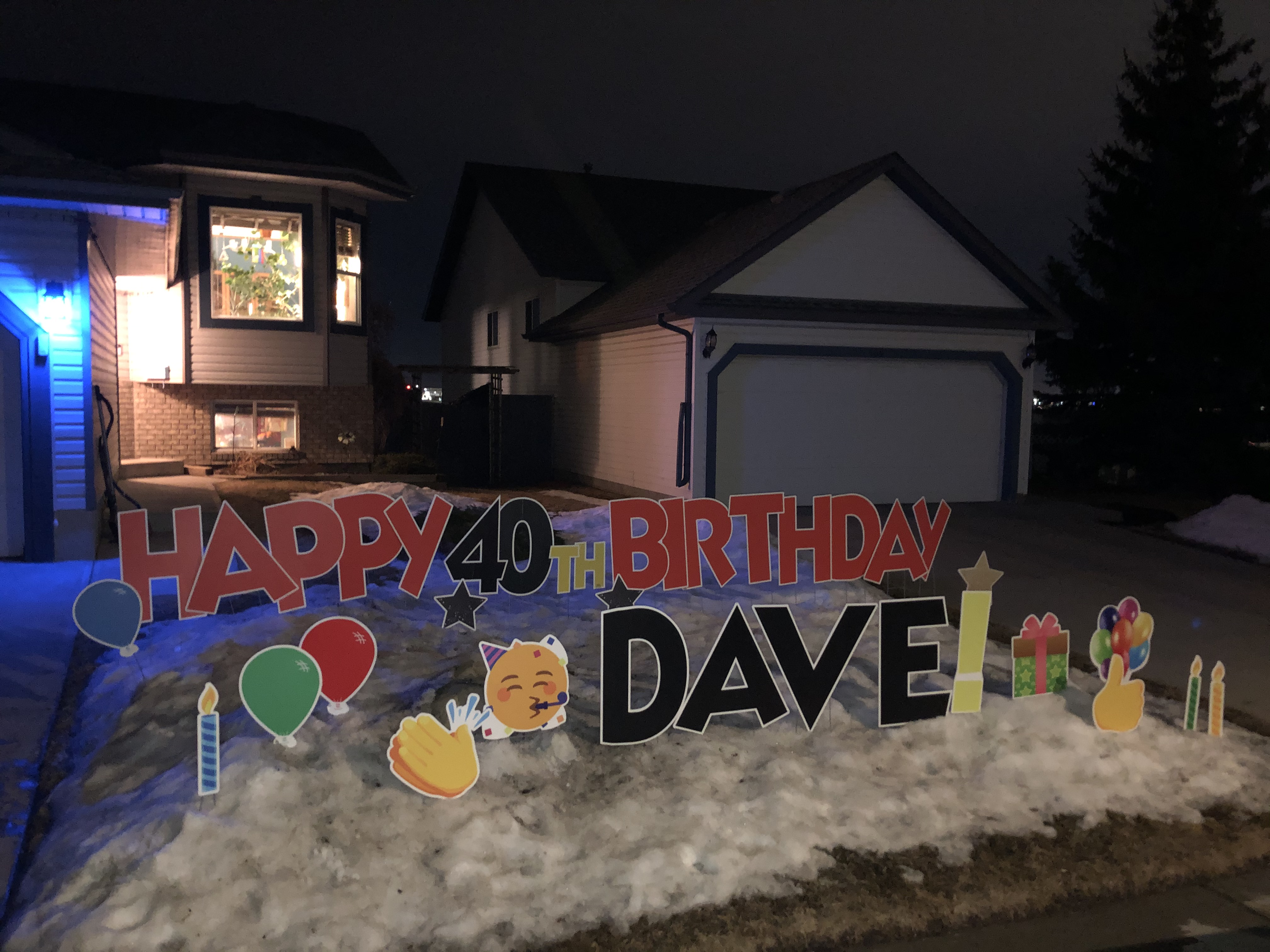 Covid Birthday Gift Calgary