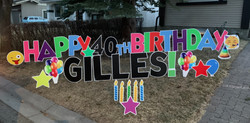 happy birthday yard signs calgary