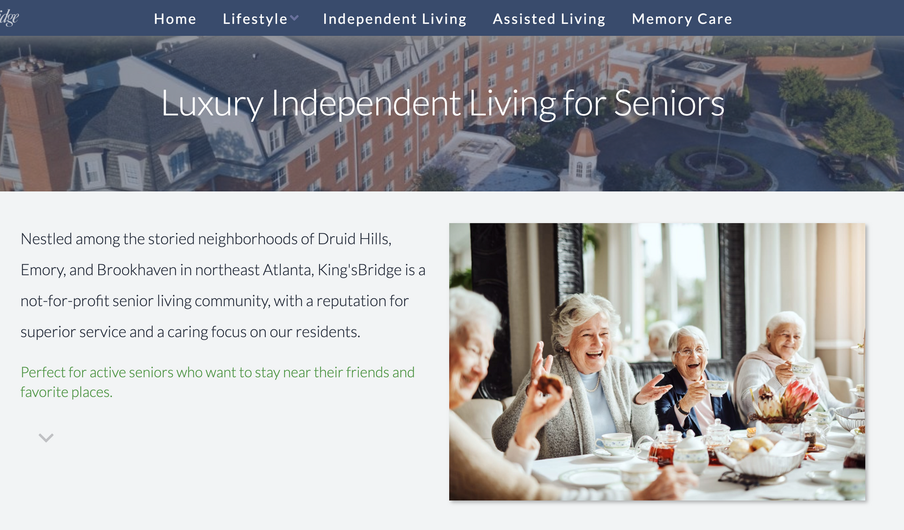 King'sBridge Retirement Community
