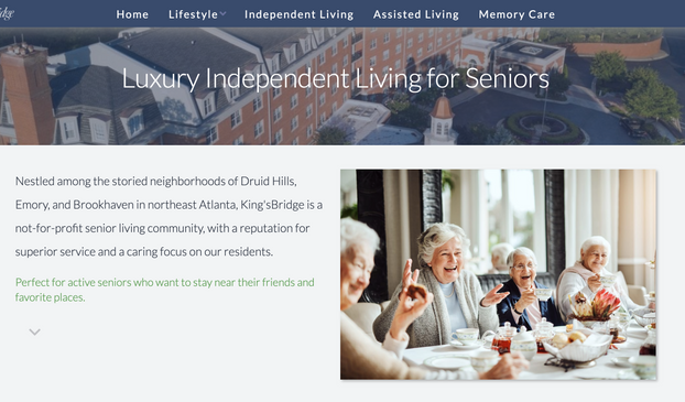 King'sBridge Retirement Community