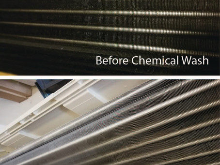 Why do you need to chemical clean your air con regularly?