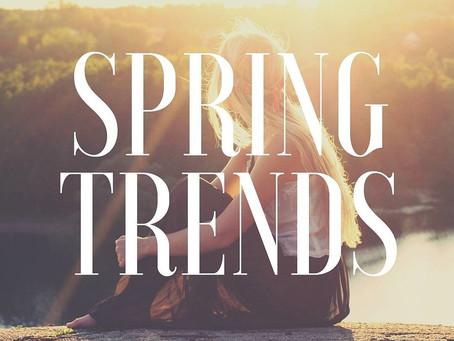 Tendencias de Primavera 2016