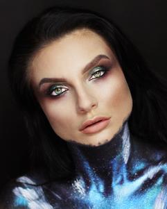 Face-paint-galaxy-theme-makeup-course-vi