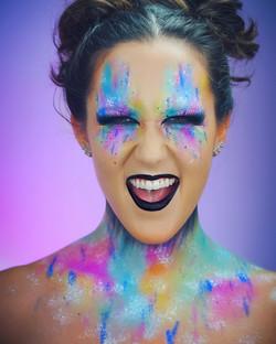 Makeup Artist Course Fantasy Shoot