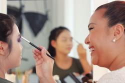 Makeup Artist Course Student
