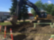 Photo-5-Excavation-for-storm-sanitary-an