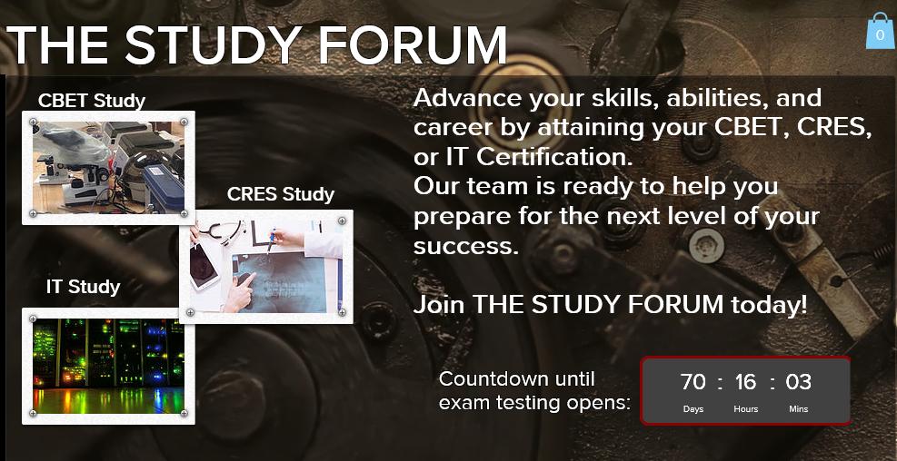 The Study Forum | CBET Study Forum