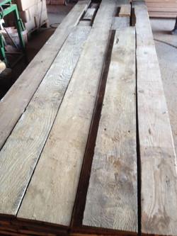 Reclaimed Pine floorboards