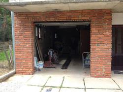External Brick Tile installation
