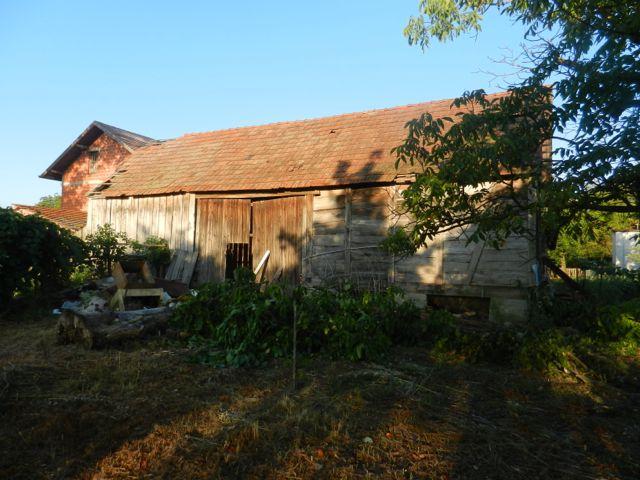 Old Croatian barn