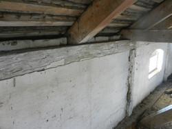 limewashed oak beams