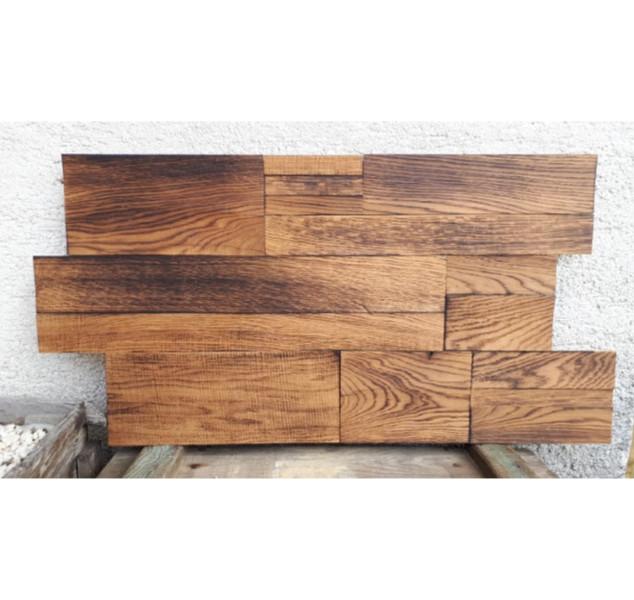 Hand-Charred Oak