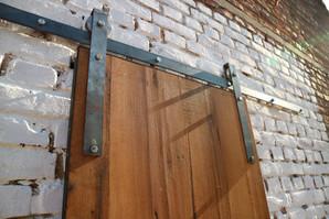 Oiled Oak Sliding Barn Door