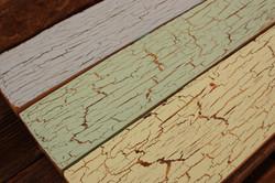 Vintage Crackle Glazed wood