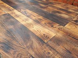 Flamed Oak flooring