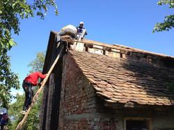 Bieber round edged roof tiles