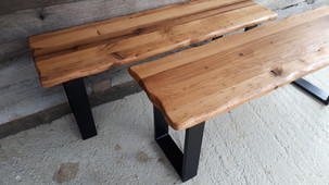 Wiggly Edge Benches