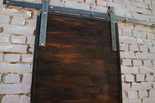 Platinum Oak Sliding Barn Door