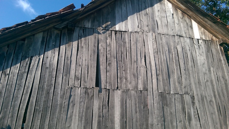Silver Weathered boards