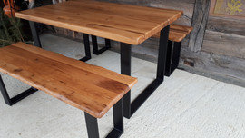 Wiggly Bench and Table set