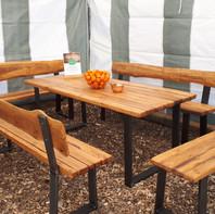 Solid Oak Barn Wood Tables