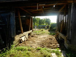 Barn doors all gone