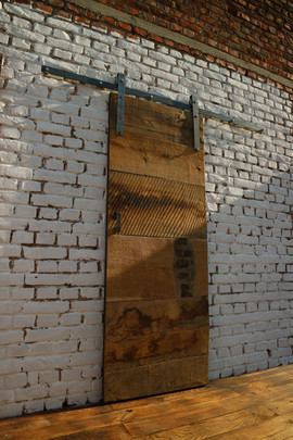 Chunky Barn Oak Sliding Barn Door
