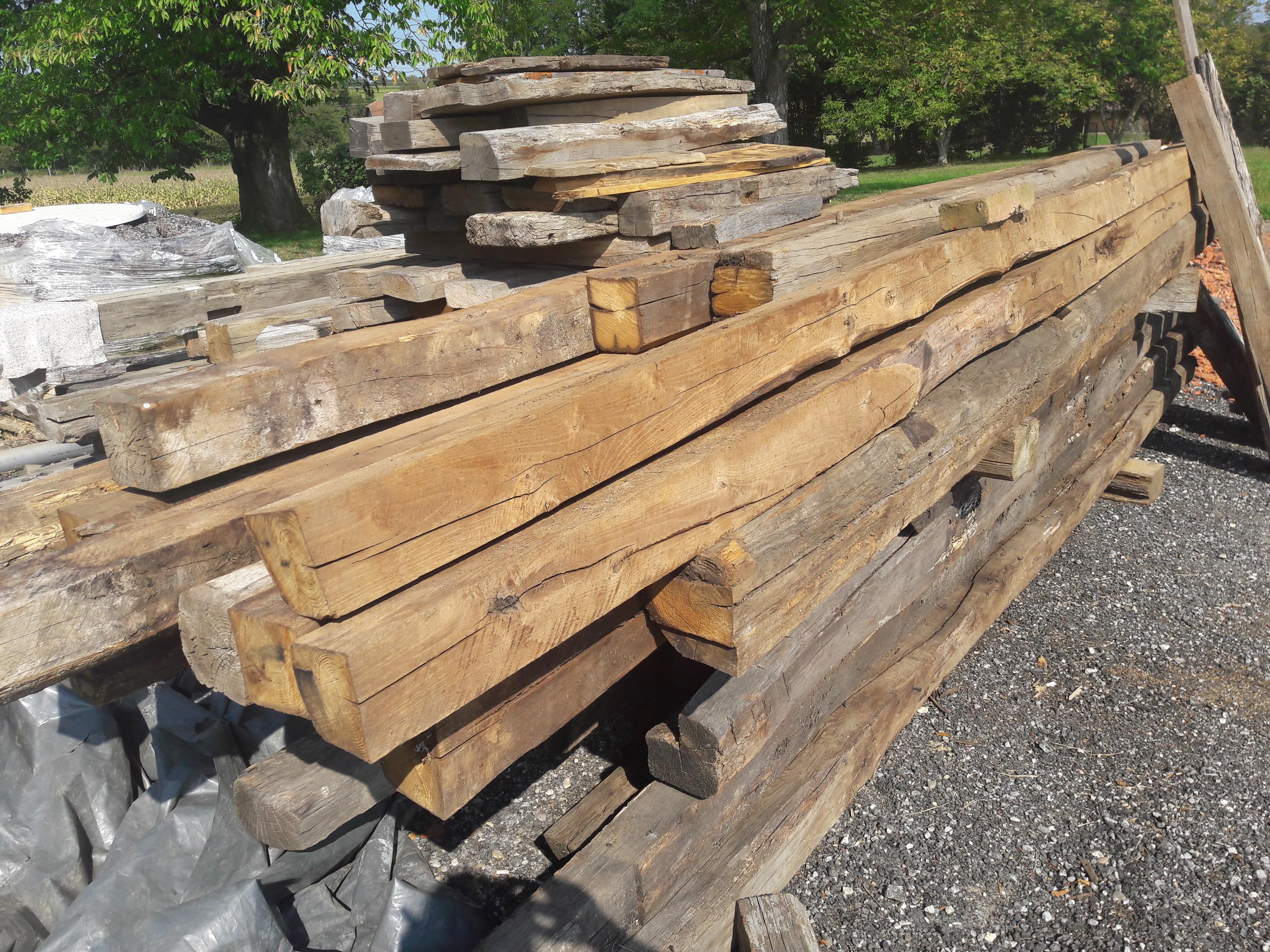 Chestnut beams