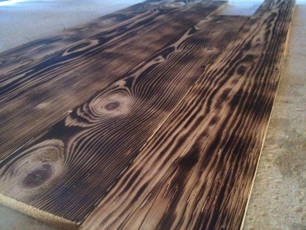 Dark Flamed Pine