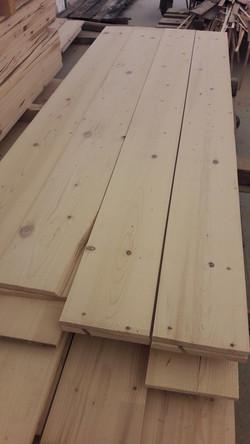 Wide Pine Flooring