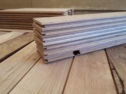 Herringbone Reclaimed Oak flooring